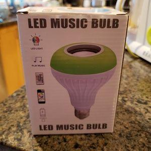 LED Color Music Light Bulb